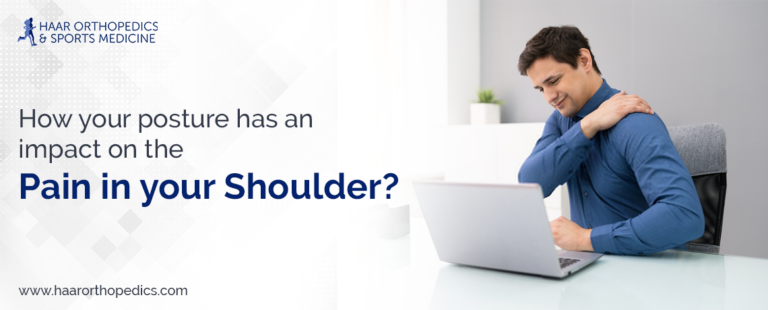 How your posture has an impact on the pain in your shoulder?
