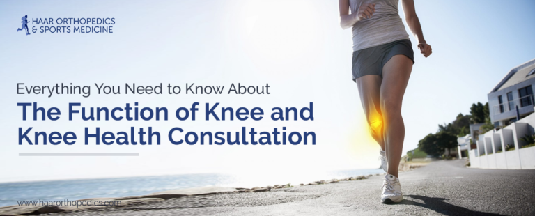 Everything You Need to Know About the Function of Knee and Knee Health Consultation