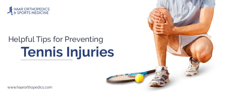 Helpful Tips for Preventing Tennis Injuries
